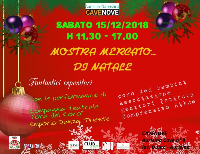 Mostra Mercato di Natale a Cavenove